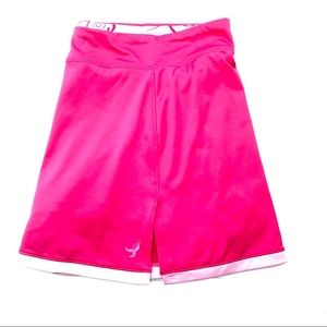 New Balance Pink With White Trim Skirt, Size XL